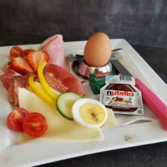 Italienischen Frühstück